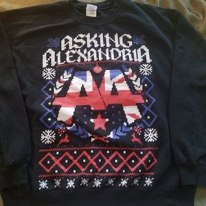 Asking Alexandria Christmas Sweater